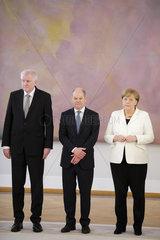 Merkel  Scholz  Seehofer