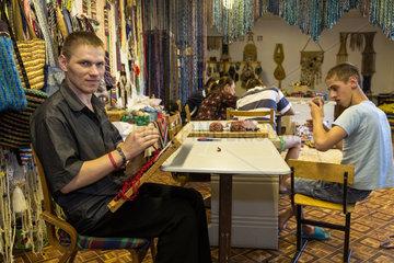 Orhei  Moldawien  geistig behinderte Jugendliche in einem staatlichen Waisenhaus