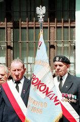 Veteranen des Posener Arbeiteraufstand im Juni 1956 (28.6.) begehen 50. Jahrestag