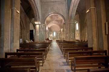 Vaison-la-Romaine  Frankreich  die Kathedrale Notre-Dame de Nazareth