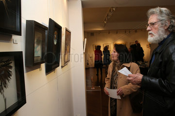 GREECE-ATHENS-ART EXHIBITION-SUPPORT-MSF