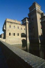 Italy  Emilia Romagna  Ferrara  the Estense castle