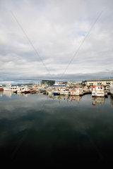 Harbor  Reykjavik  Iceland