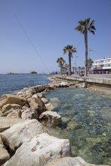 Cyprus  Kato Paphos  Promenade
