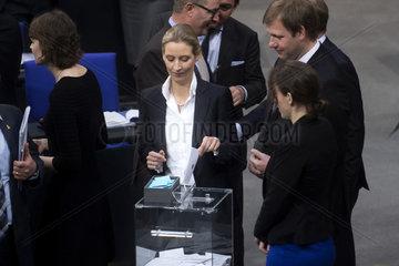 Alice Weidel  New German Government Sworn In