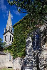 Baden  Frankreich  Kriegsdenkmal 1.Weltkrieg vor der Kirche St. Pierre