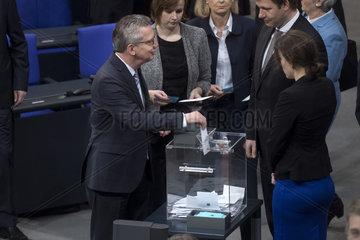 Thomas de Maiziere New German Government Sworn In