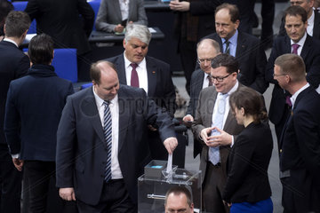 Helge Braun  New German Government Sworn In