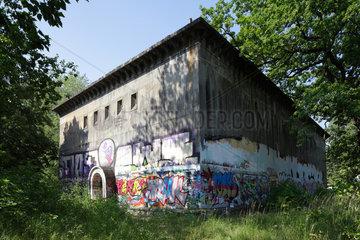 Berlin  Deutschland  Bunker auf dem Gelaende des ehemaligen KGB