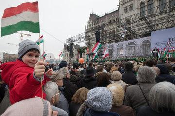 HUNGARY-BUDAPEST-1848 REVOLUTION-COMMEMORATION