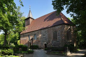 Berlin  Deutschland  die St. Annen Dorfkirche Dahlem