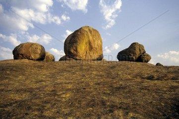 Africa  ZimbabweRock formations