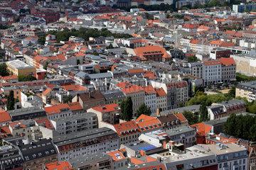 Berlin  Deutschland  Panorama der Spandauer Vorstadt