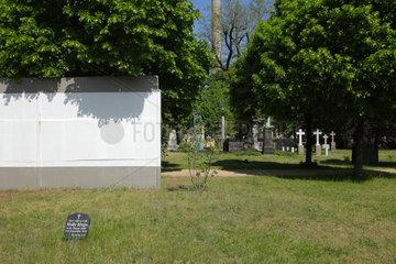 Berlin  Deutschland  Grabstaetten auf dem Invalidenfriedhof