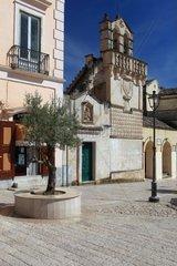 Italy  Basilicata  Matera  Mater Domini church