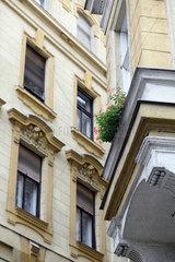 Budapest  Ungarn  sanierte Altbauten
