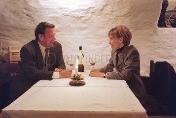 Gerhard Schroeder mit Ehefrau Doris  1998
