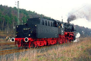 Stolberg  BRD  die 050 651 beim Dampflokabschiedsfest in Stolberg