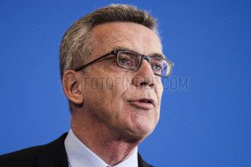 de Maiziere on new German anti-terror measures