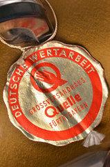 Versandhaus Quelle  Qualitaetssiegel  1956