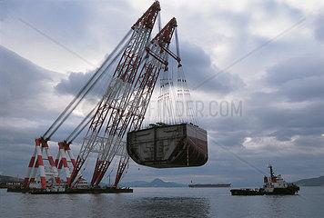 Schiffbau  Geoje