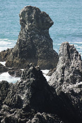 Aiguilles de Port Coton (Needles of Port Coton)  Belle-Ile-en-Mer  Morbihan  Brittany  France