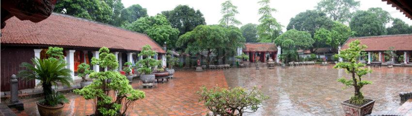 Hanoi  Vietnam  Literaturtempel  Van Mieu-Quoc Tu Giam