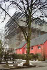 Hamburg  Deutschland  der Energiebunker auf der IBA Hamburg