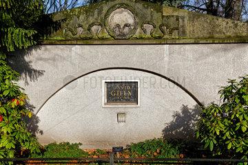 Berlin  Deutschland  Familiengrabstaette des Arztes Ernst Ludwig Heim