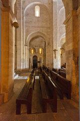 La Garde-Adhemar  Frankreich  die Kirche Saint-Michel  Innenansicht