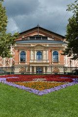 Bayreuth  Deutschland  das Richard-Wagner-Festspielhaus