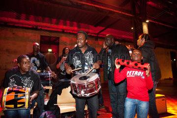 Bochum  Deutschland  die Kawina-Band Panja Gazz unterhalten die Gaeste auf dem Melez Festival