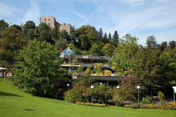 Badenweiler  Deutschland  die Burgruine von Badenweiler