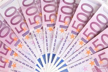 Berlin  Deutschland  500-Euroscheine