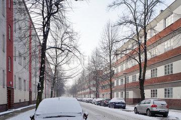 Berlin  Deutschland  Wohnanlage Sonnenhof