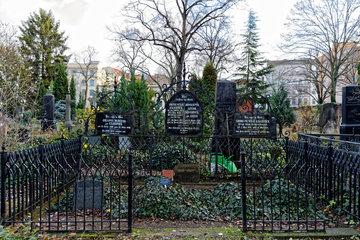 Berlin  Deutschland  Grabstaette der Familie Krausnick