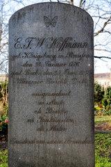 Berlin  Deutschland  Ehrengrab von E. T. A. Hoffmann