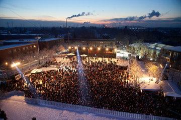 Gelsenkirchen  Deutschland  Abschlussfeier zum Jahr der Kulturhauptstadt Ruhr.2010