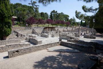Vaison-la-Romaine  Frankreich  Ausgrabungen aus der Zeit der roemischen Antike