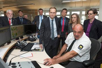 Berlin  Deutschland  Besichtigung der Betriebsleitstelle der BVG