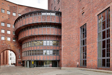 Berlin  Deutschland  das E-Werk  frueher Umspannwerk Buchhaendlerhof