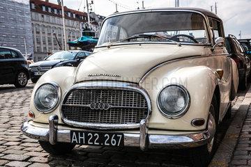 Kopenhagen  Daenemark  ein Oldtimer Auto Union 1000 S Coupe