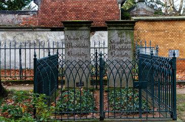 Berlin  Deutschland  Ehrengrab von Abraham und Lea Mendelssohn Bartholdy