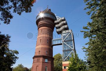 Muelheim an der Ruhr  Deutschland  das Aquarius Wassermuseum in Styrum