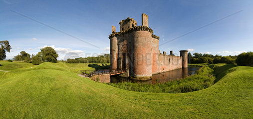 Wanlockhead  Grossbritannien  Caerlaverock Castle