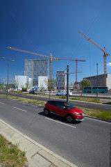 Berlin  Deutschland  Neubauten im Entwicklungsgebiet Heidestrasse