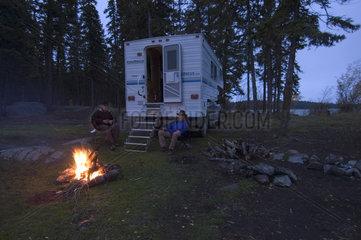 Kamloops  Kanada  Truck Camper in der Naehe von Kamloops