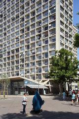 Marseille  Frankreich  Wohnhochhaus in Marseille