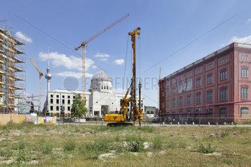 Berlin  Deutschland  Blick vom Schinkelplatz zum Berliner Schloss