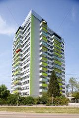 Freiburg  Deutschland  erstes Passiv-Hochhaus der Welt